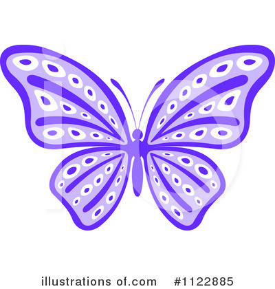Butterfly Clipart #1122885 by Vector Tradition SM