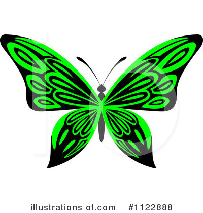 Butterfly Clipart #1122888 by Vector Tradition SM