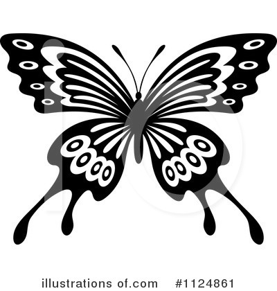 Butterfly Clipart #1124861 by Vector Tradition SM