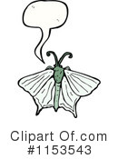 Royalty-Free (RF) Butterfly Clipart Illustration #1153543