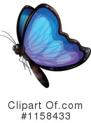 Royalty-Free (RF) Butterfly Clipart Illustration #1158433