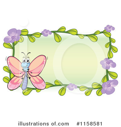 Butterfly Clipart #1158581 by Graphics RF