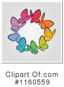 Butterfly Clipart #1160559 by elena