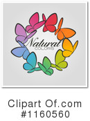 Royalty-Free (RF) Butterfly Clipart Illustration #1160560