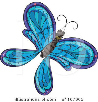 Butterfly Clipart #1167005 by Graphics RF