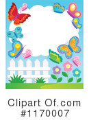 Royalty-Free (RF) Butterfly Clipart Illustration #1170007
