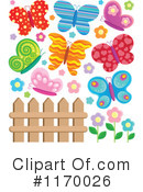 Royalty-Free (RF) Butterfly Clipart Illustration #1170026