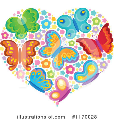 Butterfly Clipart #1170028 by visekart