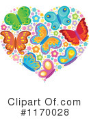 Royalty-Free (RF) Butterfly Clipart Illustration #1170028