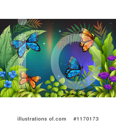 Butterfly Clipart #1170173 by Graphics RF