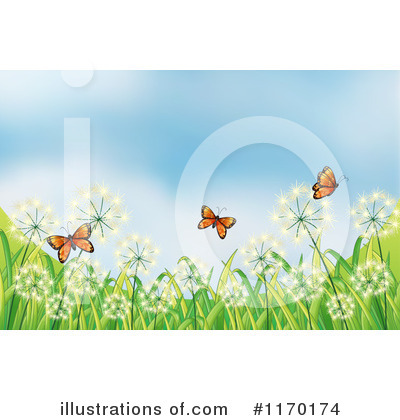 Dandelion Clipart #1170174 by Graphics RF