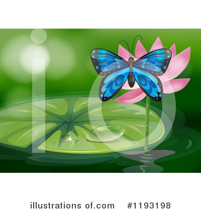 Water Lily Clipart #1193198 by Graphics RF