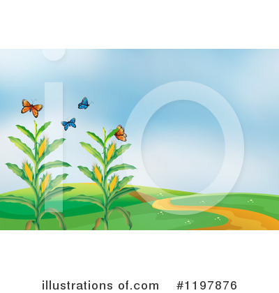 Corn Clipart #1197876 by Graphics RF
