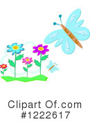 Royalty-Free (RF) Butterfly Clipart Illustration #1222617