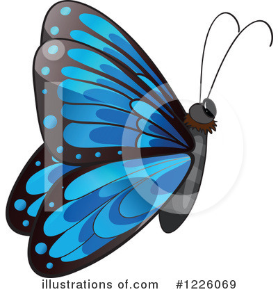 Butterfly Clipart #1226069 by Graphics RF
