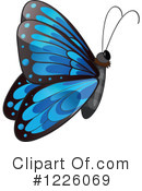 Royalty-Free (RF) Butterfly Clipart Illustration #1226069