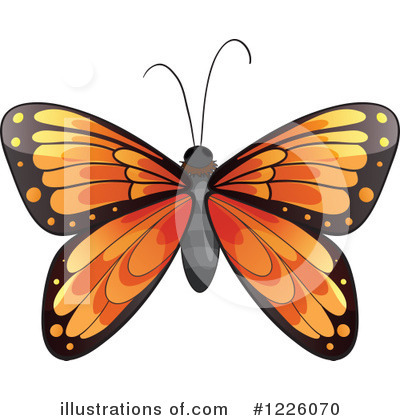 Butterfly Clipart #1226070 by Graphics RF