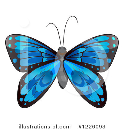 Butterfly Clipart #1226093 by Graphics RF