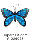 Royalty-Free (RF) Butterfly Clipart Illustration #1226093