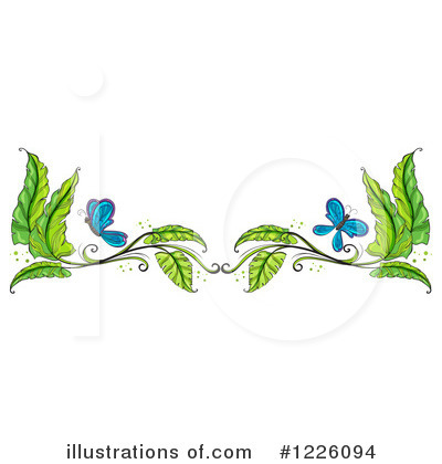 Royalty-Free (RF) Butterfly Clipart Illustration by Graphics RF - Stock Sample #1226094
