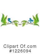 Royalty-Free (RF) Butterfly Clipart Illustration #1226094