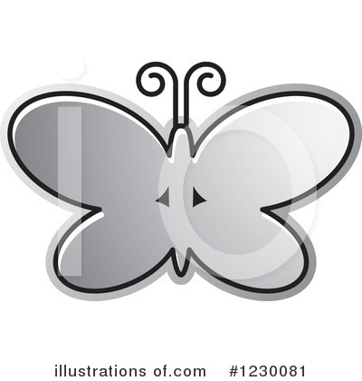 Butterfly Clipart #1230081 by Lal Perera