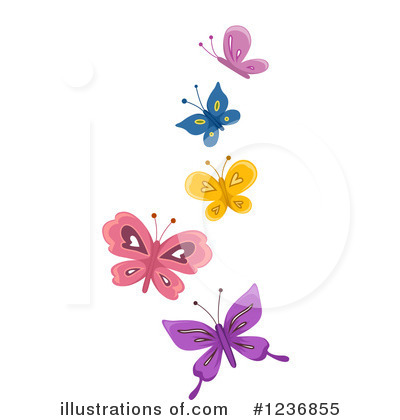 Butterfly Clipart #1236855 by BNP Design Studio