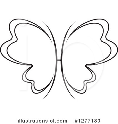 Butterfly Clipart #1277180 by Lal Perera