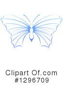 Royalty-Free (RF) Butterfly Clipart Illustration #1296709