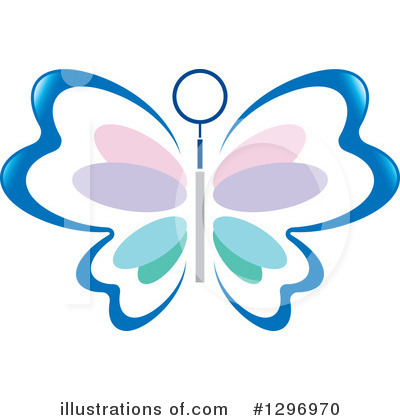 Butterfly Clipart #1296970 by Lal Perera