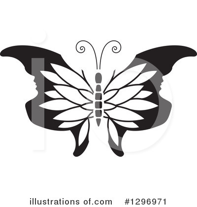 Butterfly Clipart #1296971 by Lal Perera