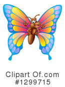 Royalty-Free (RF) Butterfly Clipart Illustration #1299715