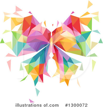 Royalty-Free (RF) Butterfly Clipart Illustration by BNP Design Studio - Stock Sample #1300072
