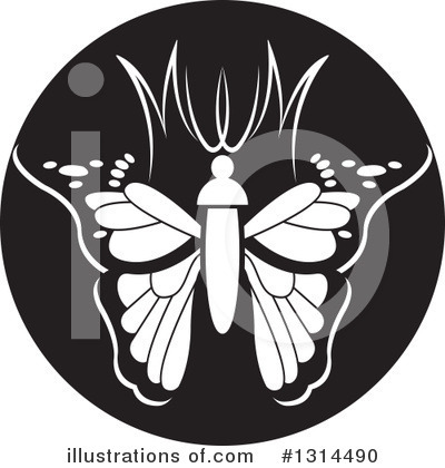 Butterfly Clipart #1314490 by Lal Perera