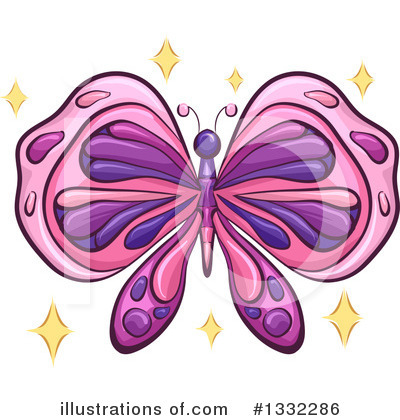 Butterfly Clipart #1332286 by BNP Design Studio