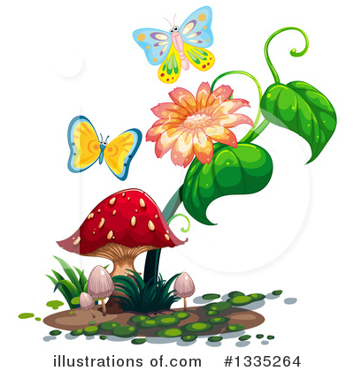 Butterfly Clipart #1335264 by Graphics RF