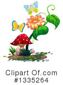 Royalty-Free (RF) Butterfly Clipart Illustration #1335264
