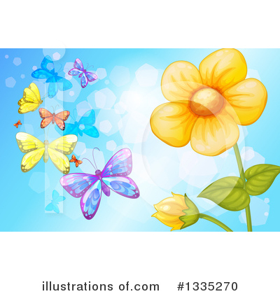 Butterfly Clipart #1335270 by Graphics RF