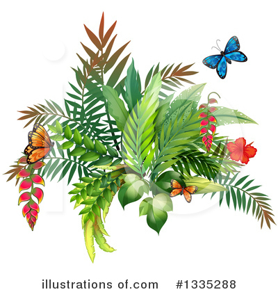 Butterfly Clipart #1335288 by Graphics RF
