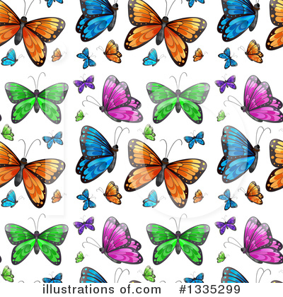 Butterfly Clipart #1335299 by Graphics RF