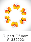 Butterfly Clipart #1339003 by ColorMagic