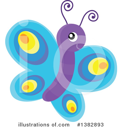 Butterfly Clipart #1382893 by visekart