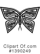 Royalty-Free (RF) Butterfly Clipart Illustration #1390249