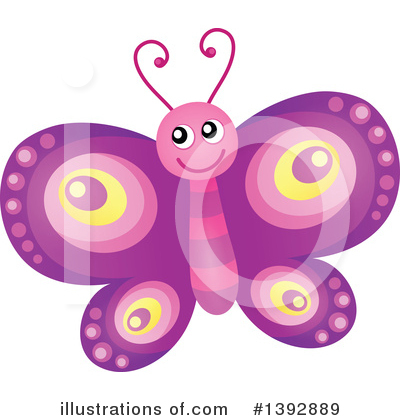 Butterfly Clipart #1392889 by visekart