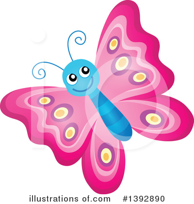 Butterfly Clipart #1392890 by visekart