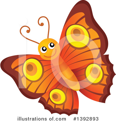 Butterfly Clipart #1392893 by visekart