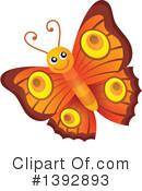 Royalty-Free (RF) Butterfly Clipart Illustration #1392893