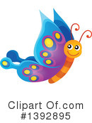 Royalty-Free (RF) Butterfly Clipart Illustration #1392895