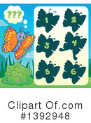 Royalty-Free (RF) Butterfly Clipart Illustration #1392948