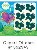 Royalty-Free (RF) Butterfly Clipart Illustration #1392949